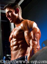 Lawson biceps barbell curl