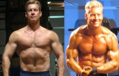 Steve Holman after one month of X-Rep training