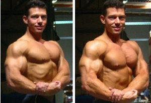Jonathan Lawson before and after chest