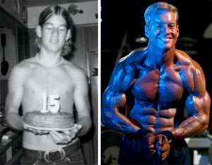 Steve Holman before and after