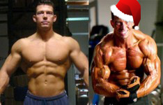 Jonathan: Christmas Eve Gym Adventures (legs, chest, triceps)