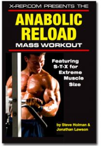 "Anabolic Reload Cover - You're Not a ""Hardgainer"""