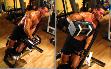 JL Incline One-Arm Laterals - New Size for Flat Muscles