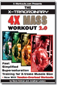 4X Mass Workout 2.0 cover