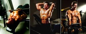 3D POF triceps positions photos