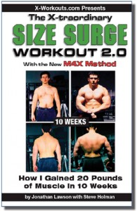 Size Surge Workout 2.0 cover