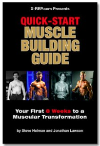 Quick-Start Muscle Building Guide cover