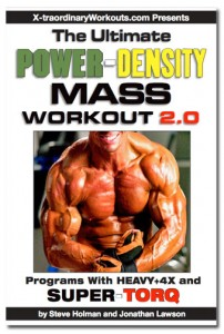 Ultimate Power-Density Mass Workout 2.0 cover