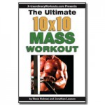 10x10 Mass Workout small cover