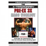 Pre-Ex 3X Mass Workout small cover