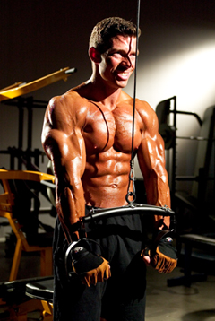 Jonathan Lawson triceps pushdowns - Ignite a Fat-to-Muscle Reshuffle
