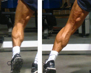 Jonathan Lawson before and after hamstrings and calves