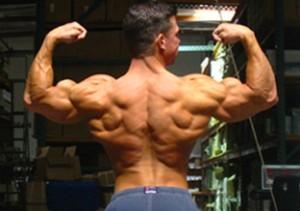 Jonathan Lawson back double biceps