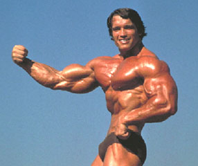 Arnold's arm out - Fast Mass Tactic: 10X for Muscle Size Effects