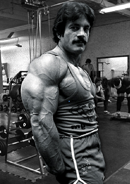 Moment of Bodybuilding Zen 24: Mike Mentzer's Triceps