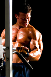Jonathan Lawson cable curls - Big-Arms Tip