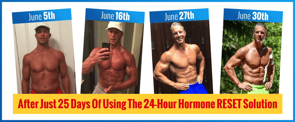 Shaun Hdsall before and after intermittent fasting - Anabolic Hormone Reset for Fast Freak Physique Results