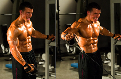 Jonathan Lawson one-arm cable lateral raise - Double-Duty Mass Moves
