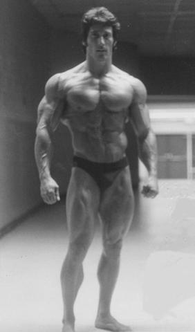 Frank Zane in perfect shape
