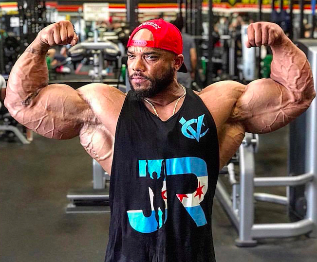 Sergio Oliva Jr., biceps
