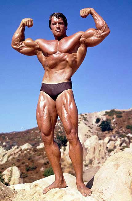 Arnold at Muscle Rock