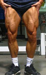 Jonathan Lawson's legs