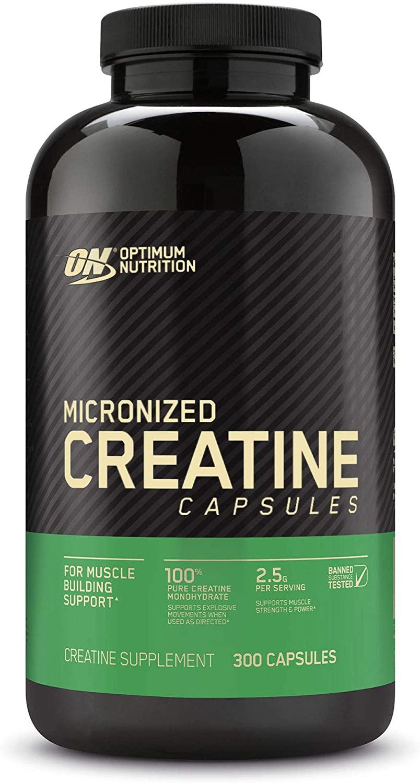 Optimum Nutrition Creatine Capsules bottle