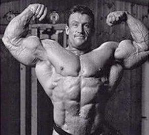 Dorian Yates looking huge and grainy