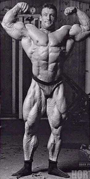 Dorian Yates when he shocked the bodybuilding world, photo by Kevin Horton