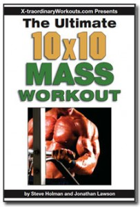 Ultimate 10x10 Mass Workout cover